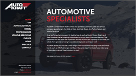 AutoKraft Website