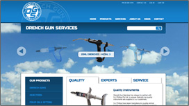 Drench Gun Shop Website