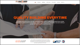 Jacobs Construction Website