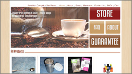 My Espresso Website