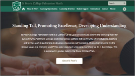 St Speters College Website