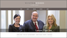 WinterWoods Lawyers Website
