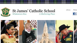 St James School Website